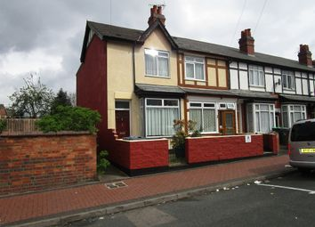 Thumbnail 2 bed end terrace house for sale in Pearman Road, Smethwick