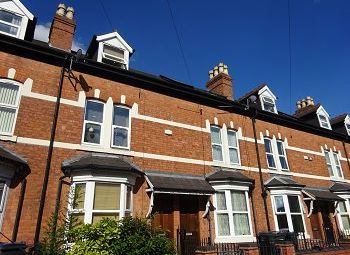 Thumbnail 3 bed terraced house to rent in Link Road, Edgbaston, Birmingham