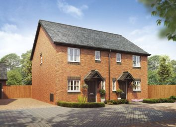 Thumbnail 3 bed semi-detached house for sale in Bramshall Road, Uttoxeter