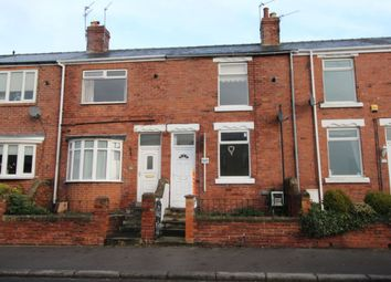 Thumbnail 2 bed terraced house to rent in Durham Road, Ushaw Moor, Durham