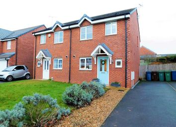 Thumbnail 3 bed semi-detached house to rent in Castlemill Close, Weston, Stafford