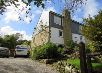 Thumbnail 4 bedroom semi-detached house for sale in Nancledra, Cornwall.