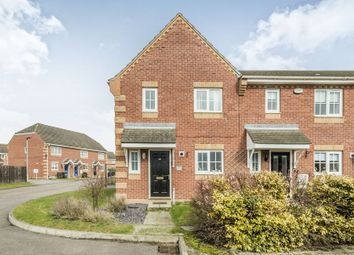 Thumbnail 3 bed end terrace house for sale in Brabazon Close, Shortstown, Bedford