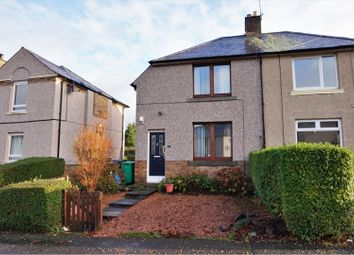 Thumbnail 2 bed semi-detached house for sale in St. Lawrence Street, Dunfermline