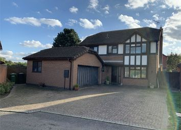 Thumbnail 4 bed detached house for sale in Willowbrook Close, Broughton Astley, Leicester