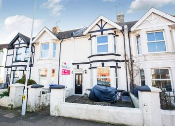 Thumbnail 4 bed terraced house for sale in Westcourt Road, Broadwater, Worthing