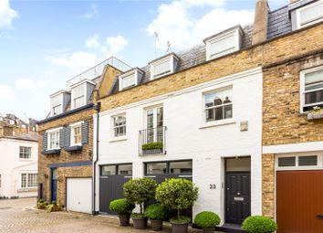 Lancaster Mews, London W2. 3 bed terraced house