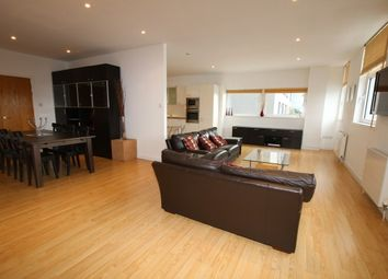 Thumbnail 3 bed flat to rent in Meadowside Quay Walk, Glasgow