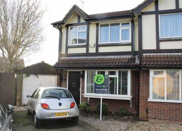 Thumbnail 3 bed semi-detached house for sale in Windsor Avenue, Groby, Leicester