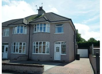 Thumbnail 3 bed semi-detached house for sale in Stansey Avenue, Heysham, Morecambe
