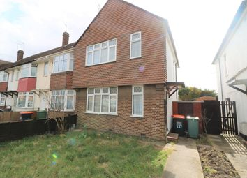 Thumbnail 3 bed semi-detached bungalow to rent in Poynters Road, Luton