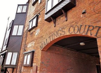 Thumbnail 2 bed flat for sale in The Maltings Court, Market Rasen