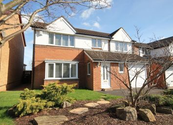 Thumbnail 5 bed detached house for sale in Bellerby Drive, Ouston, Chester Le Street