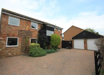 Thumbnail 5 bed detached house for sale in Tythe Barn Close, Westoning