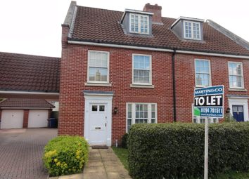 Thumbnail 3 bed semi-detached house to rent in Daisy Avenue, Bury St Edmunds, Suffolk