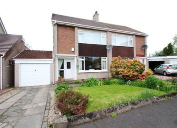 Thumbnail 3 bed semi-detached house for sale in Righead Place, Strathaven, South Lanarkshire, .