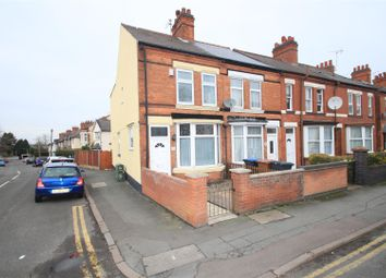 Thumbnail End terrace house for sale in Kirkby Road, Barwell, Leicester