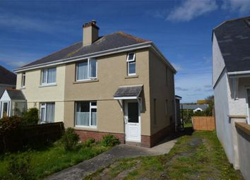 Thumbnail 3 bed semi-detached house for sale in Lyte's Road, Brixham, Devon