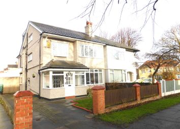 Thumbnail 5 bed semi-detached house for sale in Kings Lane, Bebington CH63,
