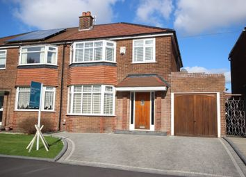 Thumbnail 3 bedroom semi-detached house for sale in Shawbrook Avenue, Worsley, Manchester