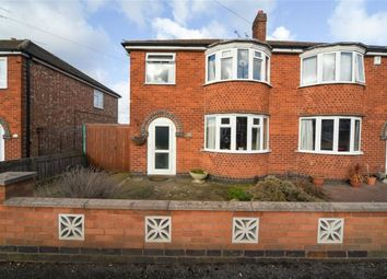 Thumbnail 3 bed semi-detached house for sale in Croft Drive, Wigston, Leicestershire