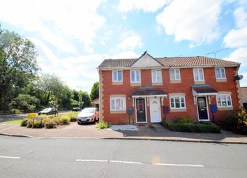 Thumbnail 2 bedroom terraced house to rent in Haselmere Close, Bury St. Edmunds