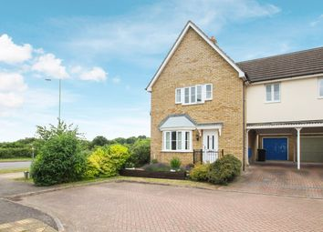Thumbnail 3 bed link-detached house for sale in Woodpecker Close, Stowmarket