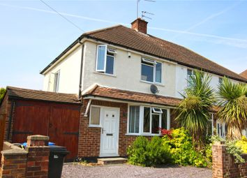 Thumbnail 3 bed semi-detached house for sale in Byfleet, Surrey