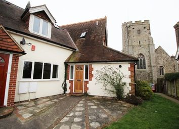 Thumbnail 3 bed cottage to rent in West Street, Wrotham, Sevenoaks