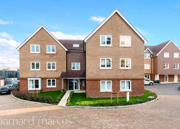 Thumbnail 2 bed flat for sale in Skylark Close, Epsom