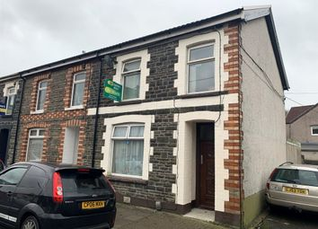 Thumbnail 4 bedroom end terrace house for sale in Meadow Street, Treforest, Pontypridd