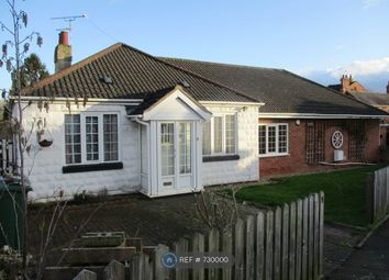 Thumbnail 2 bed bungalow to rent in Roman Road, Birstall, Leicester