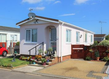 Thumbnail 2 bed mobile/park home for sale in The Willows Park, Normandy