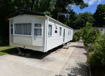 Thumbnail 2 bedroom mobile/park home for sale in Naish Estate, Barton On Sea, New Milton