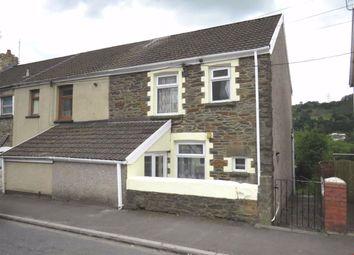 Thumbnail 2 bedroom end terrace house for sale in Pantygraigwen Road, Graigwen, Pontypridd