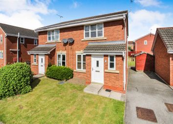 Thumbnail 3 bed semi-detached house for sale in Kestrel Close, Driffield
