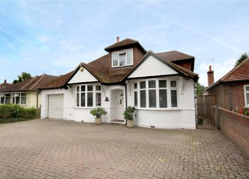 Thumbnail 4 bed detached bungalow for sale in Green Lane, Chertsey, Surrey
