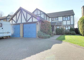 Thumbnail 5 bed detached house for sale in Old Norwich Road, Horsham St. Faith, Norwich