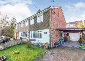 Thumbnail 3 bed semi-detached house for sale in Browns Lane, Uckfield, East Sussex