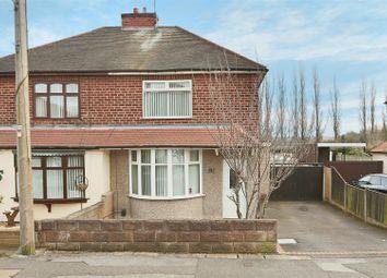 Thumbnail 3 bed semi-detached house for sale in Oakenhall Avenue, Hucknall, Nottingham