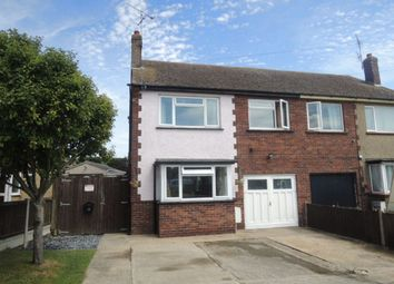 Thumbnail 3 bed semi-detached house for sale in Park Square East, Jaywick, Clacton-On-Sea
