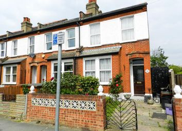 Thumbnail 2 bed end terrace house for sale in Effra Road, London