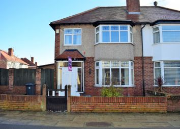 Thumbnail 3 bed semi-detached house for sale in Woodville Avenue, Crosby