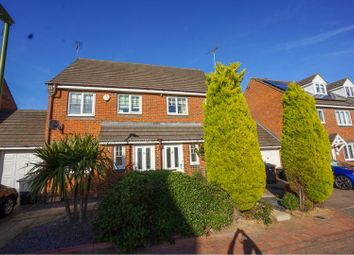 Thumbnail 3 bed semi-detached house for sale in Windrush Close, Great Ashby