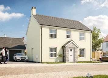 Thumbnail 4 bed detached house for sale in The Hedgerows, Pennard, Swansea