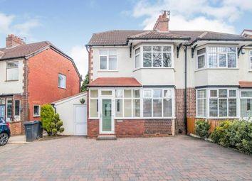 Thumbnail 3 bed semi-detached house for sale in Brandwood Road, Birmingham, West Midlands