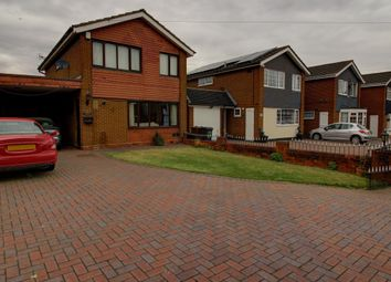 Thumbnail 3 bed detached house for sale in Elm Farm Avenue, Marston Green, Birmingham