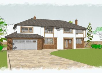 Thumbnail 5 bed detached house for sale in Links Hey Road, Caldy, Wirral