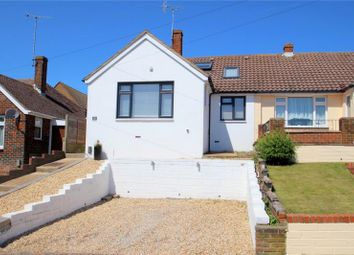 Thumbnail 3 bed semi-detached bungalow for sale in Osborne Drive, Sompting, West Sussex