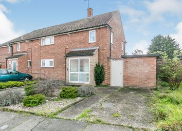Thumbnail Semi-detached house for sale in Curlew Road, Ipswich